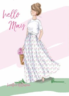 Afbeeldingsresultaat voor rose hill designs by heather stillufsen Neuer Monat, Positive Quotes For Women, Hello May, Hello Weekend, Sassy Pants, New Month, Girly Quotes, Happy Quotes, Art Quotes