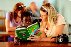 A Spark of Inspiration For Giving Back | Spark Ventures reading skills | FATHOM
