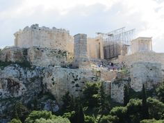 Propylaea Acropolis Athens Greece