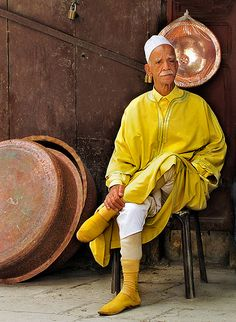 Life in Yellow... Widom and perfect Joy. Feel the atmosphere of true Morocco at La mEnara