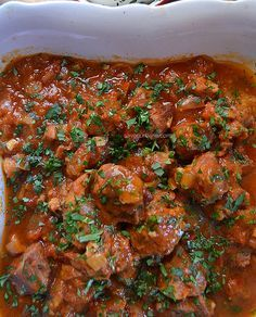 Mai, Carne, Food And Drink, Pasta, Ethnic Recipes, Pork, Red Peppers, Pasta Recipes, Pasta Dishes