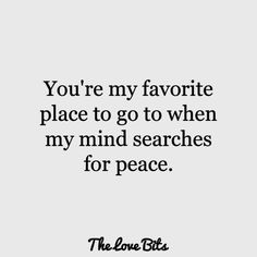 Love Quotes For Him That Will Bring You Both Closer - Looking for the best love quotes for him? Take a look at these 50 romantic love quotes for him to e - Cute Love Quotes, Simple Love Quotes, Love Quotes For Him Romantic, Soulmate Love Quotes, Love Yourself Quotes, Me Quotes, Romantic Sayings, Lovers Quotes, Status Quotes