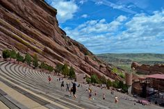 """Red Rocks // Morrison, CO - an open air """"gym"""" by day - peace. love. quinoa"""