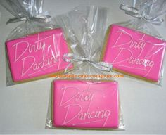 Dirty Dancing decorated cookies make perfect party favors. Get them at Marmalade…