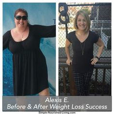 Alexis E. Weight Watcher's Success Story. Read how she lost more than 100 pounds! http://simple-nourished-living.com/2016/03/weight-watchers-success-story-17-alexis-e/