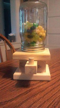 Dispensador del caramelo de madera hecho a por BrucesCreativeWood