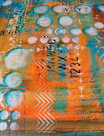 That's what I've been up to these past couple of weeks. I'll always put art journal pages in my blog titles--I don't ...