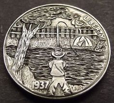 Diy Jewelry Charms, Mo Money, Hobo Nickel, Coin Art, Bullion Coins, Old Coins, Making Out, Antique Silver, Carving