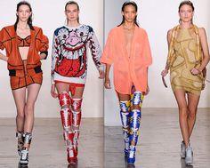 Jeremy Scott Fall/Winter 2014-2015 Collection - New York Fashion Week  #NYFW #MBFW #NewYorkFashionWeek #fashion