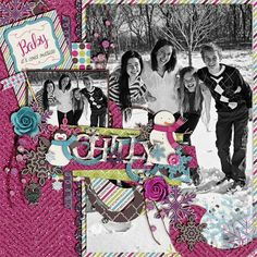 Bundle Up Collection Bundle Falling for You Templates 2 by Meagan's Creations