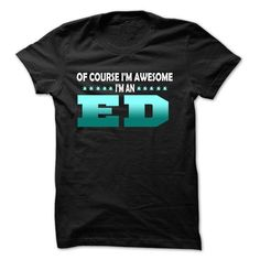 Of Course I Am Right Am ED... - 99 Cool Name Shirt ! - #cute gift #inexpensive gift. PRICE CUT => https://www.sunfrog.com/LifeStyle/Of-Course-I-Am-Right-Am-ED--99-Cool-Name-Shirt-.html?id=60505