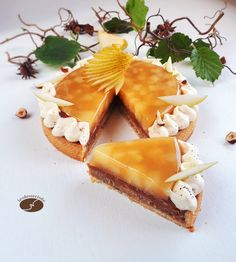 Nut pear tart - The desserts of JN Fancy Desserts, Low Carb Desserts, Low Carb Brasil, Pear Tart, Bread Cake, Low Carb Bread, Low Carb Breakfast, Something Sweet, No Bake Cake