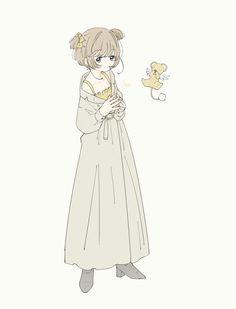 Anime Chibi, Kawaii Anime, Anime Art Girl, Manga Girl, Tomoyo Sakura, Character Art, Character Design, Cute Art Styles, Sad Art