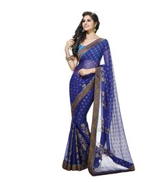 Chiffon Saree - Types of Sarees - Indian Ethnic Fashion From Their Different Regions