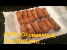 How to Make: Philly Cheesesteak, Shrimp, and Chicken Egg Rolls Shrimp Egg Rolls, Chicken Egg Rolls, Chicken Eggs, Recipes Appetizers And Snacks, Seafood Recipes, Cooking Recipes, Homemade Cheese, Homemade Desserts, Egg Roll Wraps