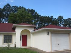 My House, Kadee Clark. We Went With Beautiful Heirloom Red By Valspar. Son  Picked The Color, Kid Has A Great Eye! Took 2 Coats Of Tinted Grey Primer,  ...