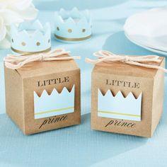 Little Prince/Princess Kraft Favor Boxes by Beau-coup