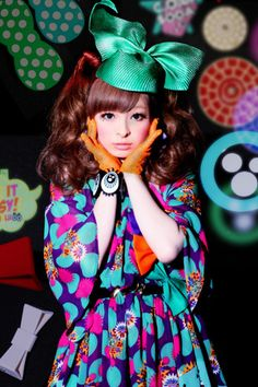 Kyary Pamyu Pamyu <3 I'm becoming kind of obsessed with her.
