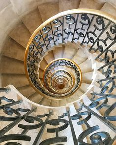 Spiral staircase to heaven