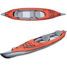 Inflatable kayak, anyone?! Advanced Elements AdvancedFrame Convertible Inflatable Kayak