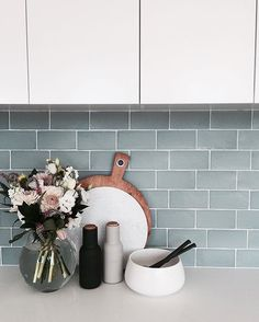 The Interior Stylists you should be following on Instagram Scandinavian kitchen, menu grinders, kitchen vignette, kitchen styling