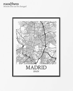 Venice italy city prints map art world cities map prints madrid map art print madrid poster map of madrid decor madrid city map art madrid gift madrid spain art poster gumiabroncs Image collections