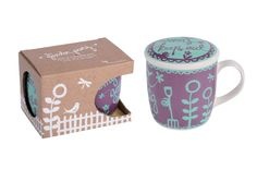 Garden Party from Think Pink is a collection of gifts and accessories for the garden and conservatory. Based on a traditional paper cut design, the range includes gifts such as a gardener's mug that features a lid to keep bugs out and a stylish gardening journal. Also in the range is a wipe clean kneeling pad and garden table cloth. In total there are 12 items in the range to choose from. www.thinkpinkblue2.com