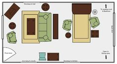 Use section on the left for family room. Or maybe chaise lounge opposite of bay window and two chairs with small table between under bay window. 7 Tips For Arranging Furniture In A Long Narrow Living Room Small Living Room Furniture, Living Room Plan, Narrow Living Room, Living Room Sets, Living Room Arrangements, Living Room Furniture Arrangement, Arranging Furniture, Long Narrow Rooms, Beautiful Living Rooms