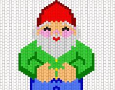 Gnomey The Happy Gnome Bead Pattern