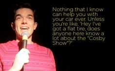 I think John Mulaney may be my new favorite comedian.... Nope Gaffigan still beats him! But Mulaney's definitely one of the best!