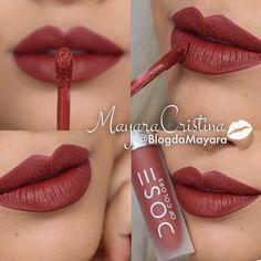 Batom BRICK da marca Dose Of Colors. Vermelho. Red. Lipstick. Makeup. Maquiagem. Por @BlogdaMayara