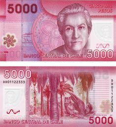 Chile,cinco mil pesos