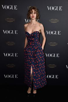 Lindsey Wixson attends the Vogue 95th Anniversary Party on October 3, 2015 in Paris, France.