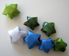 How to Make Lucky Paper Stars in 7 Steps