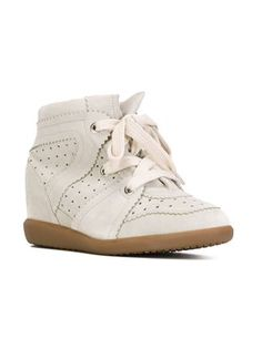 Isabel Marant Étoile 'Bobby' concealed wedge sneakers