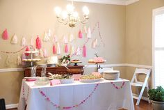 Baby Shower for a Sweet Baby Girl Named Edith