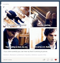 "BuzzFeed-The ""Sherlock"" Season 3 Finale Caused Tumblr To Self-Destruct Everyone had a lot of feelings about ""His Last Vow."" SPOILER WARNING."