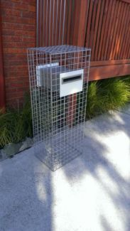 Gabion letterbox (price drop) | Other Home & Garden | Gumtree Australia Brighton Area - Old Beach | 1098380783