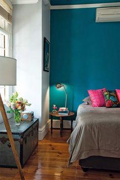 Iluminação de quartos: luminárias articuladas