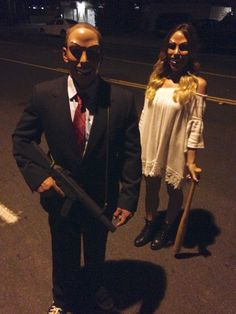 Tonight, we purge #thepurge #costume