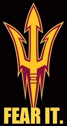 The Fork. Fear It. #ASU #SunDevils #FearTheFork