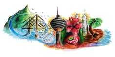 Happy Malaysia Day! Congratulationss, Lee Yee Run for winning the Malaysia Google Doodle !