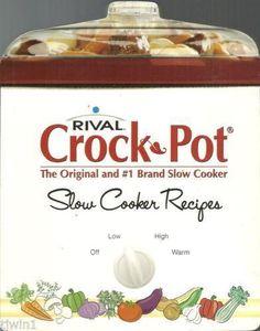 Rival Crock Pot Cookbook | eBay