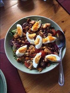A great layered, warm salad that can be eaten on its own or as a side dish for everyone to dig into! Add or subtract ingredients as you like depending …