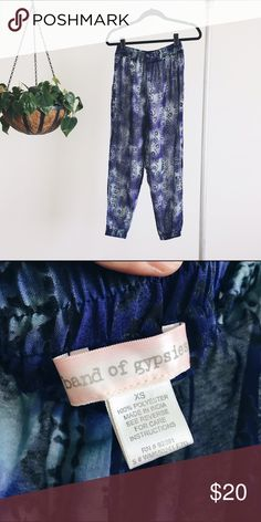 Band of Gypsies Harem Pants Gorgeous semi-sheer harem pants from UO.  ⋯⋯⋯⋯⋯⋯⋯⋯⋯⋯⋯⋯⋯⋯⋯⋯⋯⋯⋯  ➵ brand new condition  ➵ this item is negotiable  ➵ no paypal or merc  xo | Deb Urban Outfitters Pants