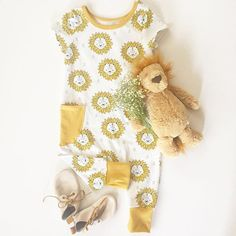 Lion Baby and Kid's Romper - Mount Zi. Baby ootd, flat lay outfit, hipster baby, one-pieces for baby, baby boy style.