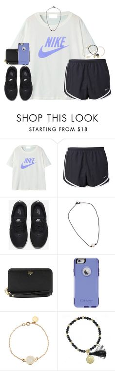 """""""I'm so bad at captions, like y'all have no idea"""" by kaley-ii ❤ liked on Polyvore featuring NIKE, FOSSIL, OtterBox, Marc by Marc Jacobs and Isabel Marant"""