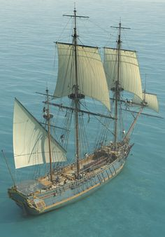 Pirate Ship Drawing, Old Sailing Ships, Pirate Art, Man Of War, Boat Painting, Wooden Ship, Nautical Art, Tug Boats, Navy Ships