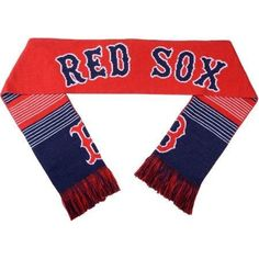 Boston Red Sox Reversible Split Logo Scarf