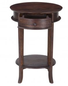 Buy Living Room Furniture Online In India. Sheesham Round Side Table